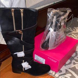 Cecily Wide Calf Boots
